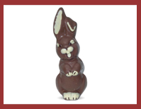 Bio-Schokoladenfigur Lachhase