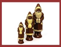 Bio-Weihnachtsmann schmal