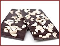 Bio-Zartbitter Schokolade mit Cashewkernen