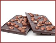Bio-Zartbitter Schokolade mit Haselnüssen