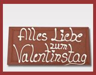 Schokoladen-Grusskarte-Valentinstag