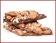 Bio-Schokoladenbruch in Vollmilch und Zartbitter