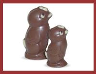 Bio-Schokoladenfigur Küken