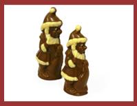 Bio-Schokoladenfigur Weihnachtswichtel