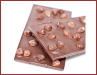 Bio-Vollmilch Schokolade mit Haselnüssen