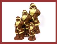 Bio-Weihnachtsmann mit Sack