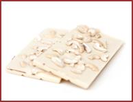 Bio-Weiße Schokolade mit Cashewkernen