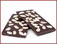 Bio-Zartbitter Schokolade mit Mandeln